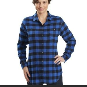 Woolrich Buffalo Check Top, Large